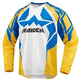 Icon Mens Raiden Arakis Adventure Touring/MX/Offroad Riding Jersey 2015 White