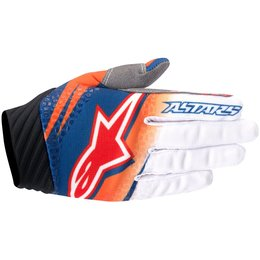 Alpinestars Mens Techstar Venom Textile Gloves Orange