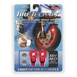 Red Street Fx Led Tire Technix Wheel Effects Ballistic