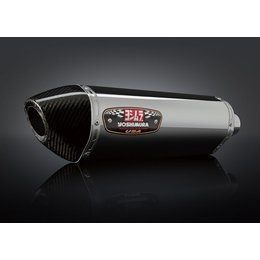 Stainless Steel Sleeve Muffler With Carbon Fiber Tip Yoshimura R-77 Slip-on Muffler Stainless Stainless Carbon F Suz Gsx-r1000 07-08