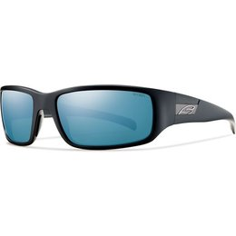 Matte Black/blue Mirror Polarized Smith Optics Prospect Sunglasses W Polarized Lens 2013 Matte Black Blue Mirror