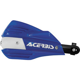Acerbis X-Factor Handguards Complete Kit With Mounting Hardware Blue 2374190003 Blue