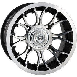 Douglas Wheel UTV Diablo 12X7 2+5 Offset 4/110 BP 14MM Bolt Hole Machined 991-16 Unpainted