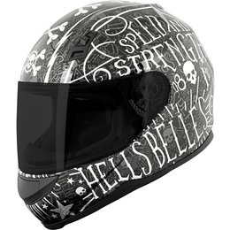 Speed & Strength Womens SS700 Hell's Belles Full Face Helmet Black