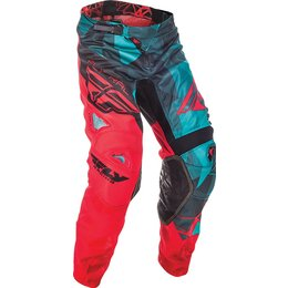 Fly Racing Youth Boys Kinetic Mesh Crux MX Pants Blue
