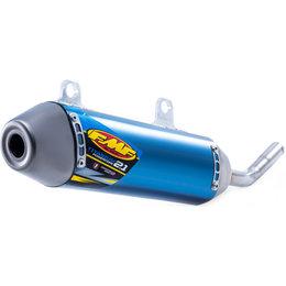 FMF Racing PowerCore 2.1 Silencer Husqvarna KTM Polaris Blue 025209 Blue