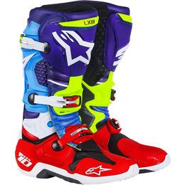 Alpinestars Mens Tech 10 Limited Edition Venom Boots Multicolored