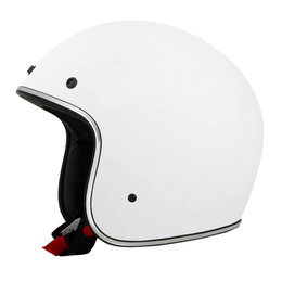 AFX FX76 Open Face Helmet White