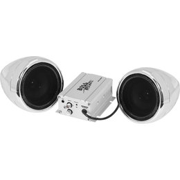 Boss Audio Systems Weatherproof All Terrain Bluetooth Stereo W/ 600W Amp Chrome