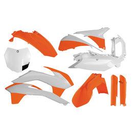 Acerbis Full Plastic Specialty Kit For KTM Factory KTM 14 2314334618 Orange