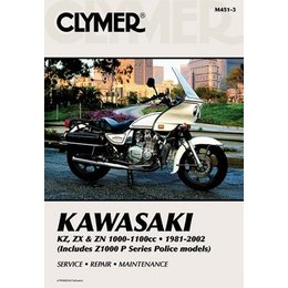 Clymer Repair Manual For Kawasaki KZ ZX ZN 1000 1100 81-02