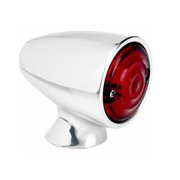 Biltwell Taillight Bullet 1 5/8 Inch Outside Lens Diameter Polished Universal