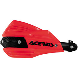 Acerbis X-Factor Handguards Complete Kit With Mounting Hardware Red 2374190004 Red