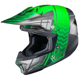 HJC CL-X7 CLX7 Cross Up Motocross MX Off-Road Helmet Green