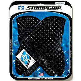 Stompgrip Traction Pad Tank Kit Black For Honda CBR 600RR 2007-2012 55-10-0020B