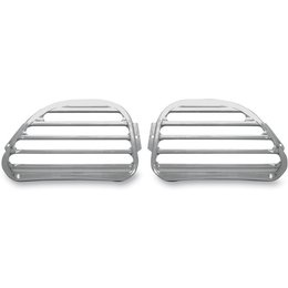 Chrome Covingtons Speaker Grills For Harley Fltr 98-10