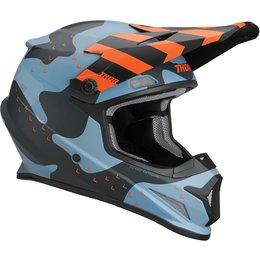 Thor Sector Mosser Matte Helmet Blue