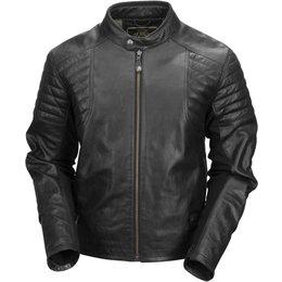 RSD Mens Bristol Leather Riding Jacket Black