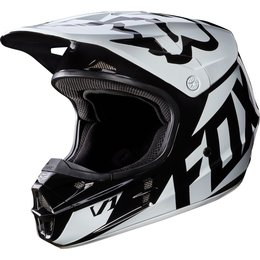 Fox Racing Mens V1 Race DOT Approved Motocross MX Helmet Black