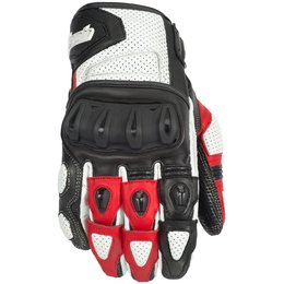 Cortech Mens Impulse ST Short Leather Gloves