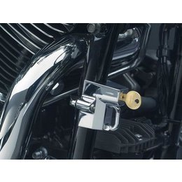 Chrome Kuryakyn Cruiser Motorcycle Helmet Lock 1-1 4 To 1-1 2
