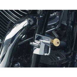 Chrome Kuryakyn Cruiser Motorcycle Helmet Lock 1-1 4 To 1-1 2