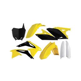Acerbis Full Plastic Kit For Suzuki RMZ250 2010-2016 Flo Yellow/Black 2198035137