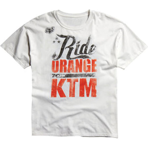 fox racing youth ktm ride orange t shirt 141393. Black Bedroom Furniture Sets. Home Design Ideas