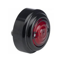 Biltwell Taillight Model B 1 5/8 Inch Outside Lens Diameter Black Universal