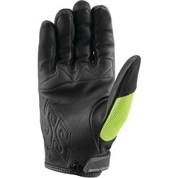Speed & Strength Womens Backlash Leather Riding Gloves Yellow