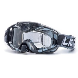 Black Liquid Image Torque 368 Goggles With Hd Wifi Camera