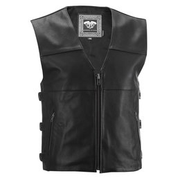 Highway 21 Mens 12 Gauge Leather Vest