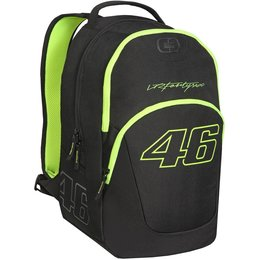 Ogio VR46 Valentino Rossi Outlaw Motorsports School Travel Luggage Backpack Black