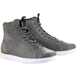 Alpinestars Mens Jam Air Leather Riding Shoes Grey