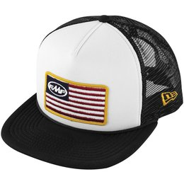 FMF Mens Stars And Bars 2 Snapback Adjustable Trucker Hat
