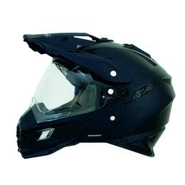 Flat Black Afx Mens Fx-41ds Fx41 Ds Dual Sport Helmet