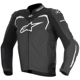 Alpinestars Mens GP Pro Armored Leather Jacket Black