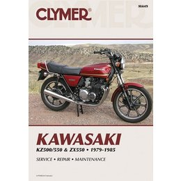 Clymer Repair Manual For Kawasaki KZ500 KZ550 ZX550 79-85