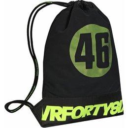 Ogio VR46 Valentino Rossi String Bag Motorsports School Travel Track Cinch Sack Black