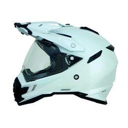 Pearl White Afx Mens Fx-41ds Fx41 Ds Dual Sport Helmet