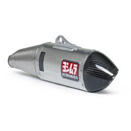 Stainless Steel Midpipe, Aluminum Muffler, Carbon Fiber End Cap Yoshimura Rs-4 Slip-on Muffler Stainless Aluminum Carbon For Yamaha Wr450f 2012