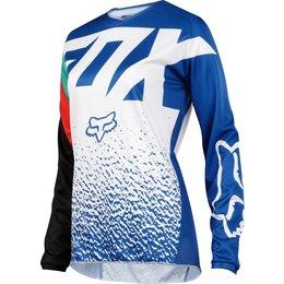 Fox Racing Womens 180 MX Jersey Blue
