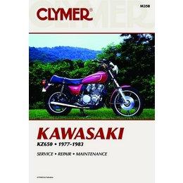 Clymer Repair Manual For Kawasaki KZ650 KZ-650 77-83