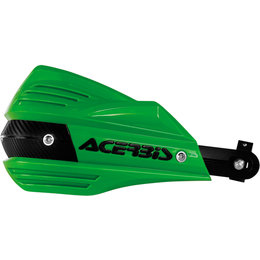 Acerbis X-Factor Handguards Complete Kit With Mounting Hardware Green 2374190006 Green