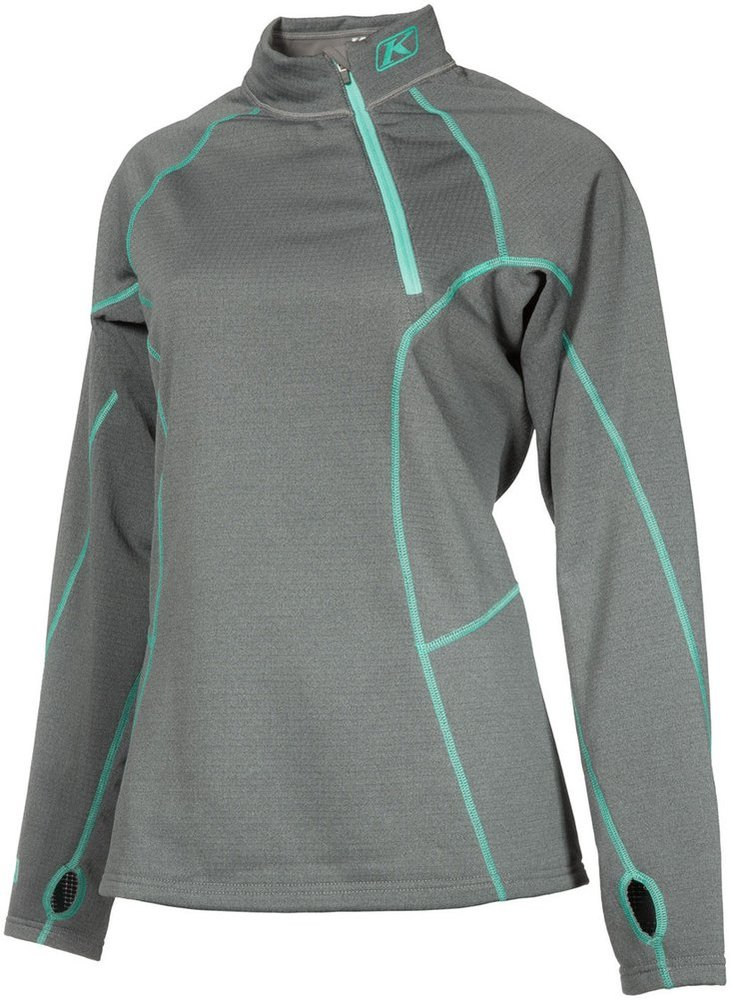 Klim womens solstice 3 0 heavy weight base layer for Womens base layer shirt