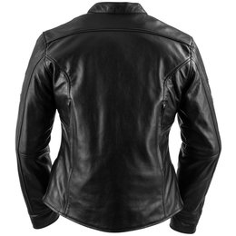 Black Brand Womens Eternity KoolTek Leather Jacket Black