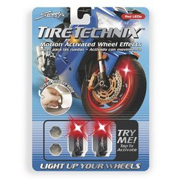 Red Street Fx Led Tire Technix Wheel Effects Hex