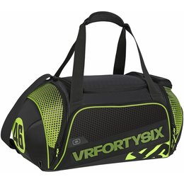 Ogio VR46 Valentino Rossi Endurance Duffle Motorsports Travel Luggage Gear Bag Black
