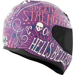 Speed & Strength Womens SS700 Hell's Belles Full Face Helmet Purple