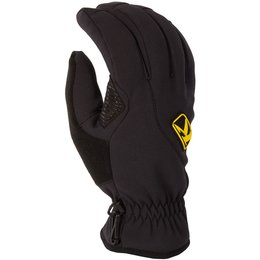 Klim Mens Inversion Gore Windstopper Insulated Snowmobile Gloves Black